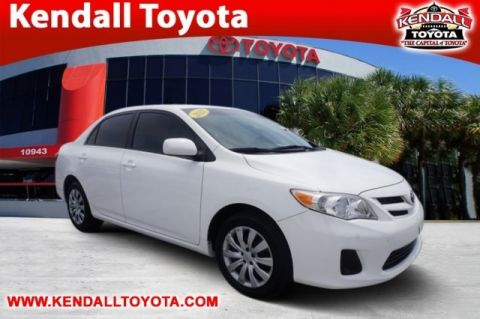 Pre-Owned 2012 Toyota Corolla LE FWD 4D Sedan