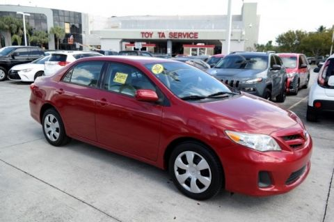 Pre-Owned 2012 Toyota Corolla L FWD 4D Sedan