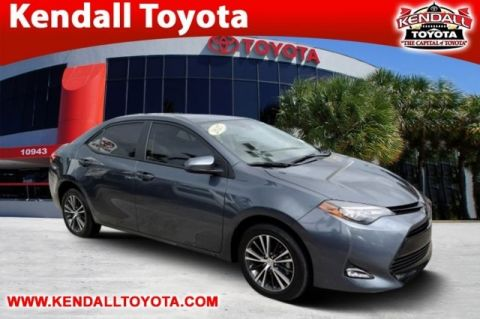 Certified Pre-Owned 2017 Toyota Corolla LE FWD 4D Sedan