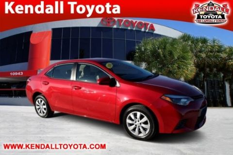 Certified Pre-Owned 2016 Toyota Corolla LE FWD 4D Sedan