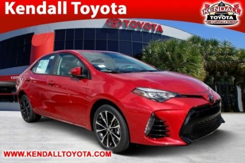 New 2018 Toyota Corolla SE FWD 4D Sedan