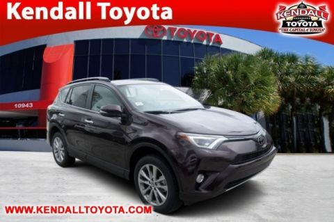 New 2017 Toyota RAV4 Limited With Navigation & AWD