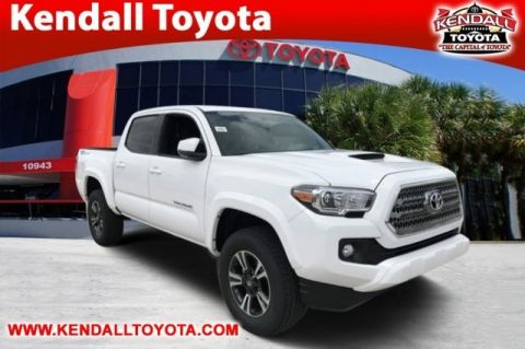 New 2017 Toyota Tacoma TRD Sport RWD 4D Double Cab