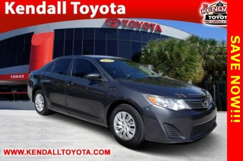 Pre-Owned 2012 Toyota Camry L FWD 4D Sedan