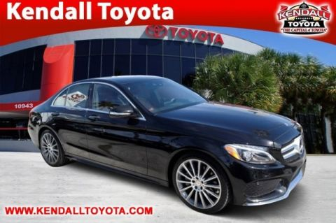 Pre-Owned 2015 Mercedes-Benz C-Class C 300 RWD 4D Sedan