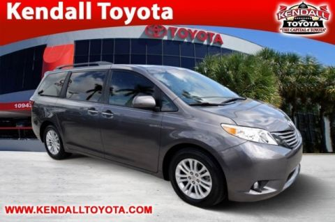 Pre-Owned 2015 Toyota Sienna XLE FWD 4D Passenger Van