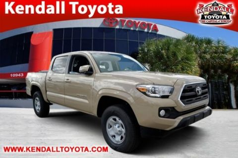 New 2017 Toyota Tacoma SR5 RWD 4D Double Cab