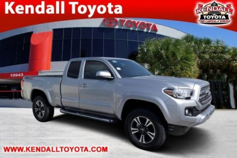 New 2017 Toyota Tacoma TRD Sport 4WD 4D Access Cab