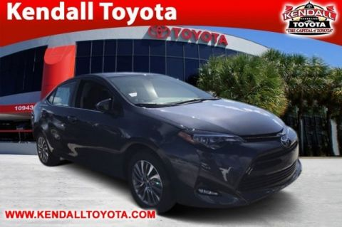 New 2018 Toyota Corolla LE ECO FWD 4D Sedan