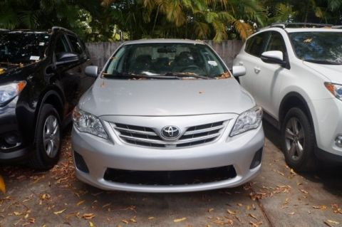 Pre-Owned 2013 Toyota Corolla LE FWD 4D Sedan