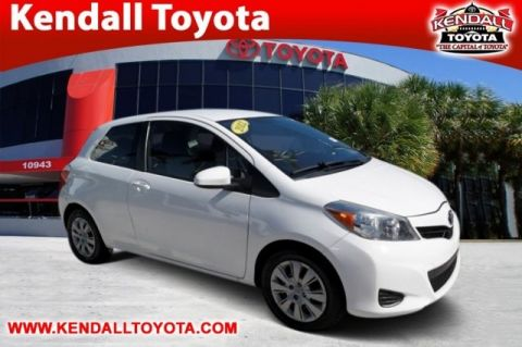 Pre-Owned 2012 Toyota Yaris L FWD 3D Hatchback