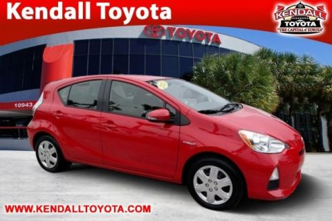 Pre-Owned 2013 Toyota Prius c One FWD 5D Hatchback