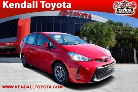 New 2017 Toyota Prius v Three With Navigation