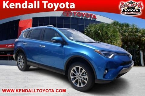 New 2016 Toyota RAV4 Limited With Navigation