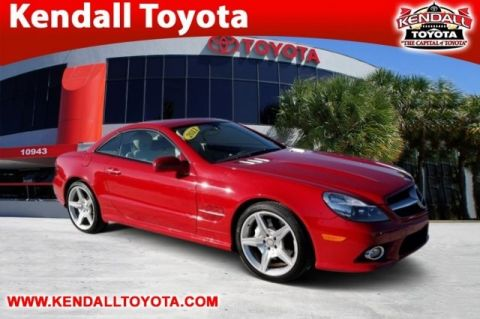 Pre-Owned 2011 Mercedes-Benz SL-Class SL 550 RWD 2D Convertible