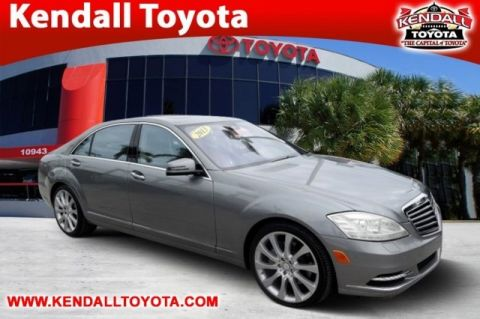 Pre-Owned 2013 Mercedes-Benz S-Class S 550 RWD 4D Sedan