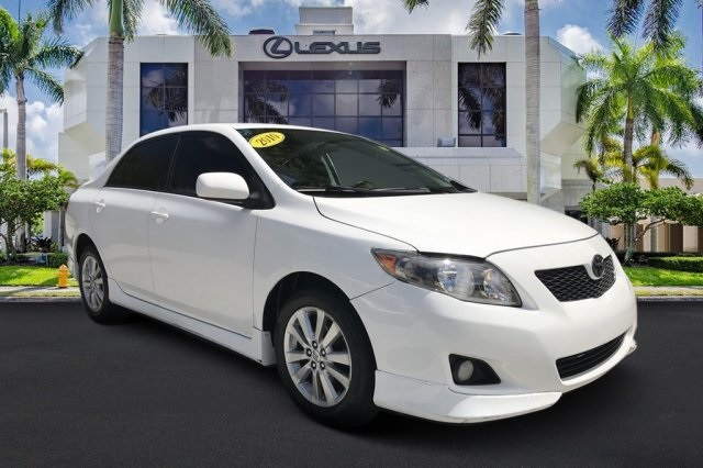 Pre-Owned 2010 Toyota Corolla S low payments