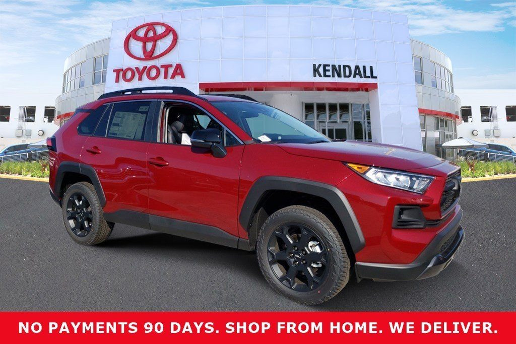New 2020 Toyota RAV4 TRD Off Road AWD 4D Sport Utility
