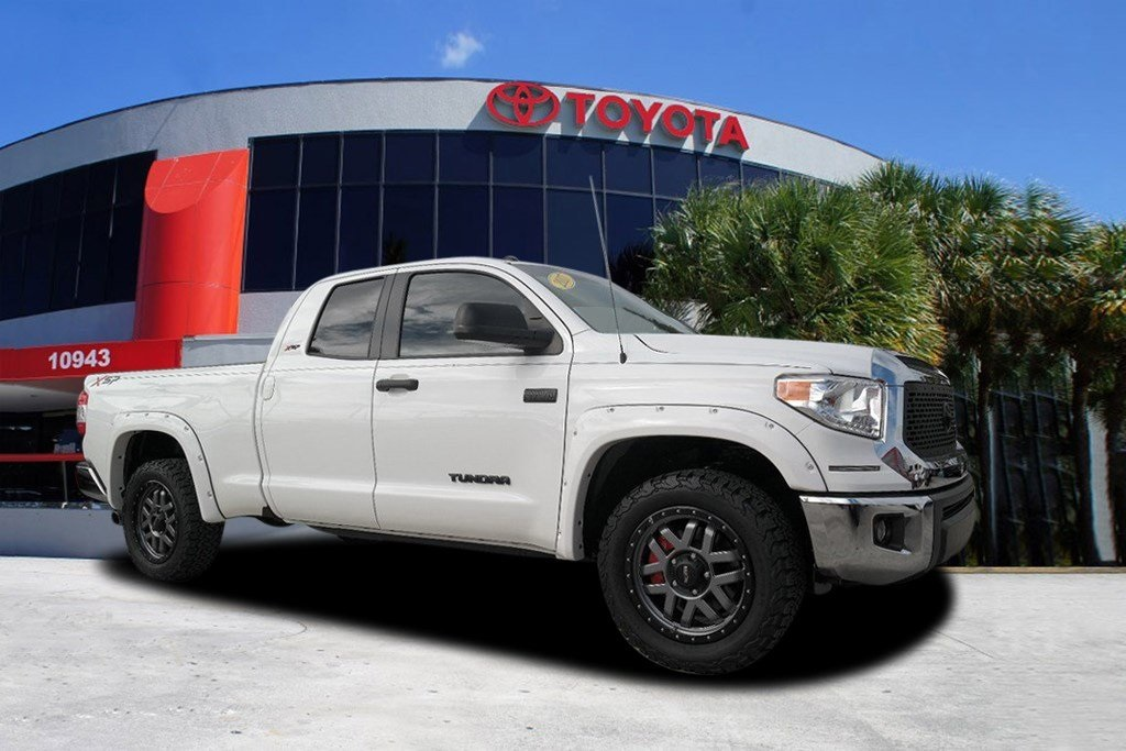 used 2017 toyota tundra sr5 4d double cab in miami #25795p | kendall
