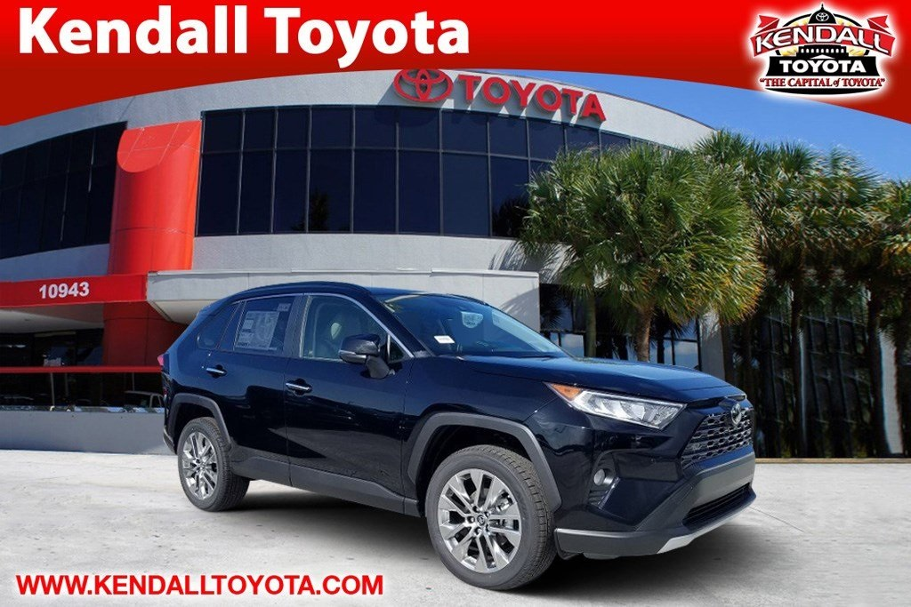 New 2019 Toyota Rav4 Limited 4d Sport Utility In Miami T11506