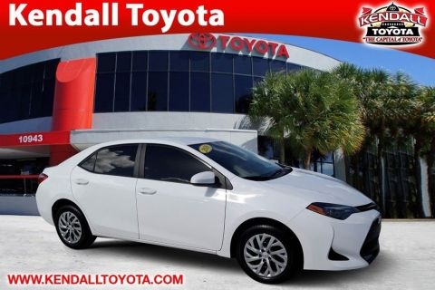 Certified Pre-Owned 2018 Toyota Corolla LE
