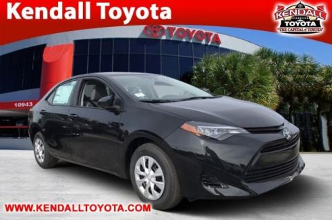 New 2018 Toyota Corolla L FWD 4D Sedan