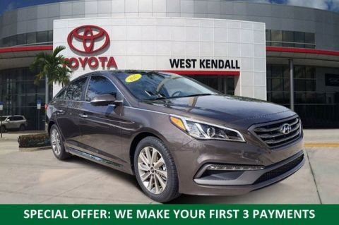 Pre-Owned 2017 Hyundai Sonata Sport FWD 4D Sedan | Miami, FL
