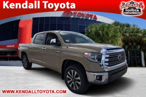 New 2018 Toyota Tundra Limited 4WD 4D CrewMax