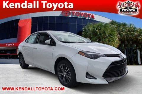 New 2018 Toyota Corolla LE FWD 4D Sedan