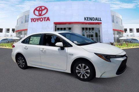 New 2020 Toyota Corolla Hybrid LE 4D Sedan in Miami #T16898