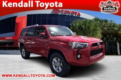 New 2018 Toyota 4Runner SR5 Premium With Navigation & 4WD