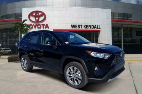 New 2020 Toyota RAV4 Limited FWD 4D Sport Utility