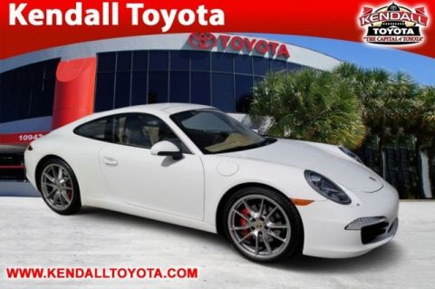 Pre-Owned 2012 Porsche 911 Carrera S RWD 2D Coupe